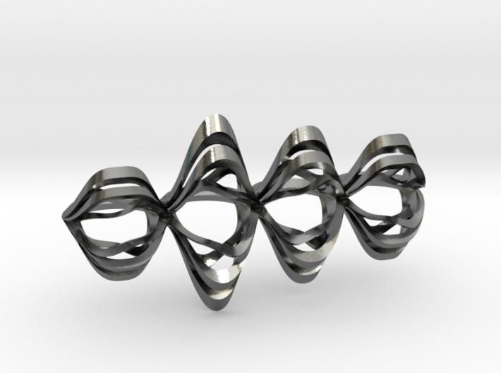 16 0215 4 Finger Ring 3d printed