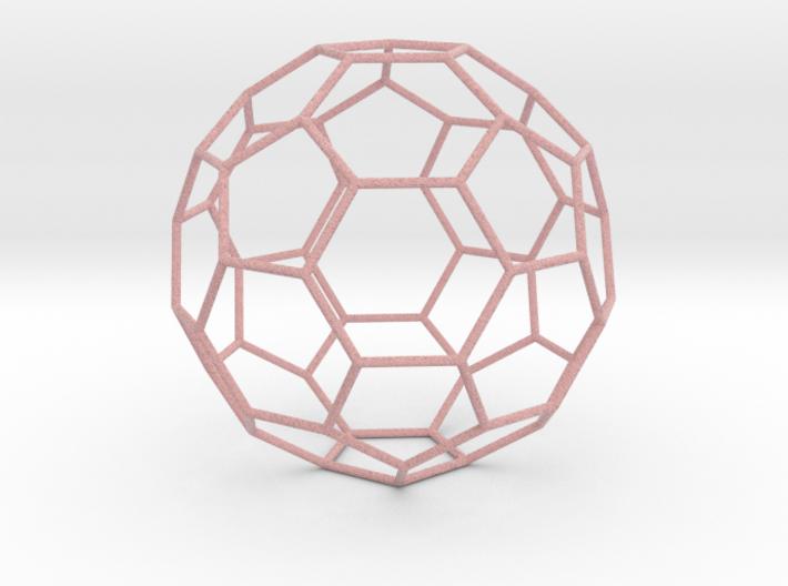 0473 Truncated Icosahedron E (16.0 см) #006 3d printed