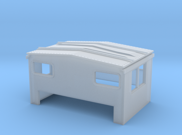 EV Cupola SCL Riveted Window 3d printed