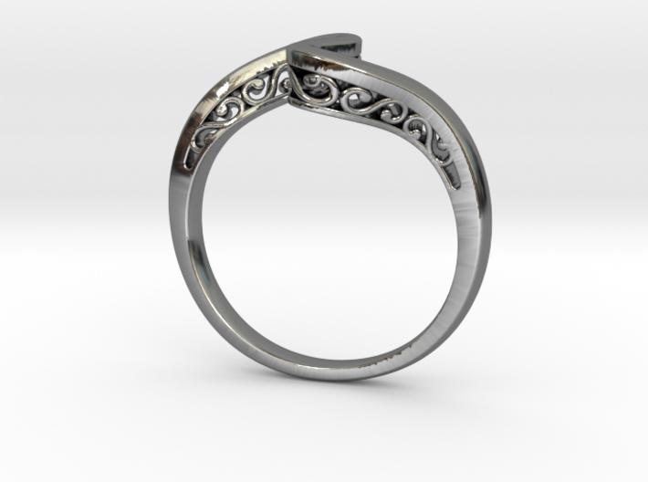 Journeyer Ring Cadiaan 3d printed