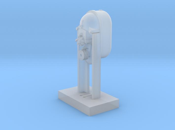 Liberta - ruční ovladač závor H0 1:87 3d printed