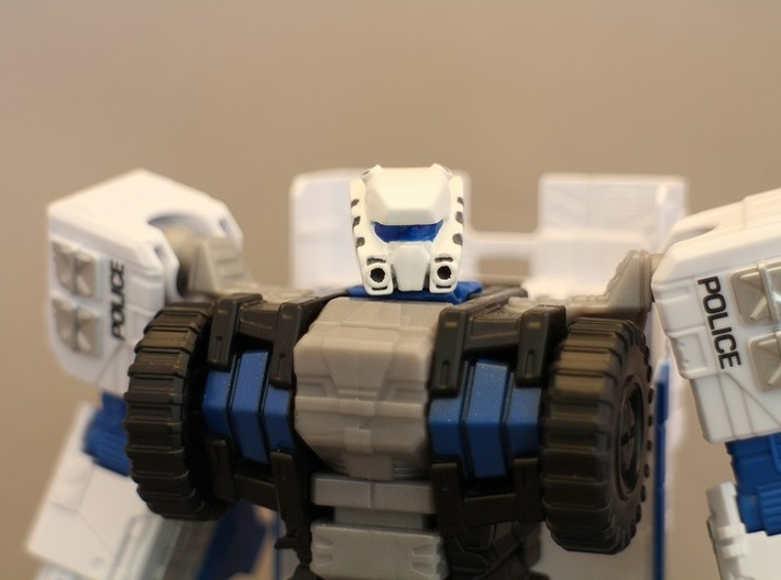 Autorooper Head for Combiner Wars Rook 3d printed