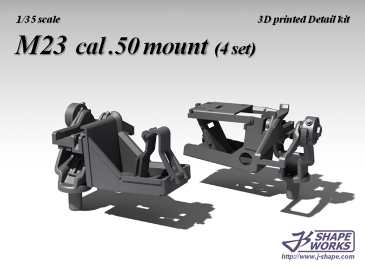 1/35 M23 cal .50 mount (4 set) 3d printed