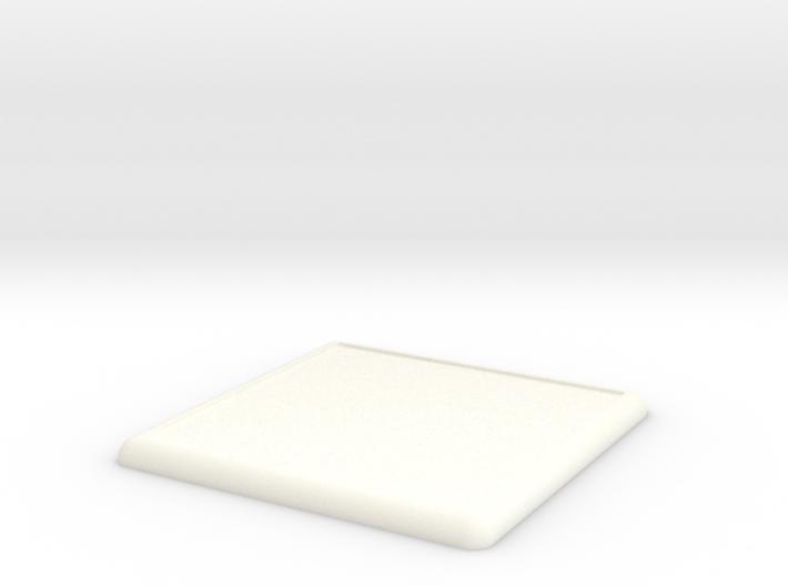 Mini Base Round Lip 100x100 3d printed