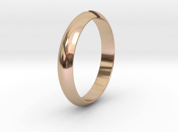 Ø18.19 mm /Ø0.716 inch Arrow Ring Style 1 3d printed