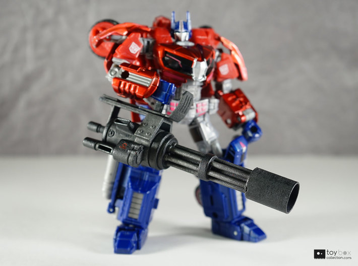 Transformers CHUG Minigun 3d printed Optional sleeve attached, model has been painted and detailed
