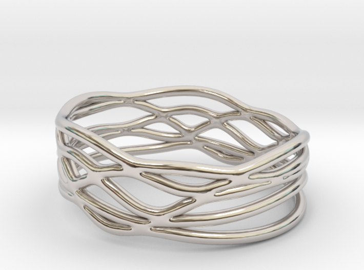 King Trophy Ring (Size 4.5--14.8mm dia)R S1 010200 3d printed