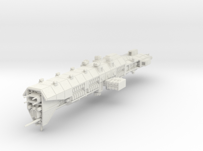 EA Guided Missile Battlecruiser Large 3d printed