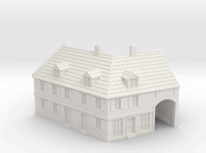 1:350-Corner House 2 3d printed