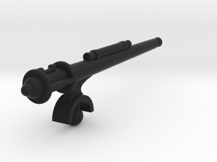 Matchbox jeep machine gun 3d printed