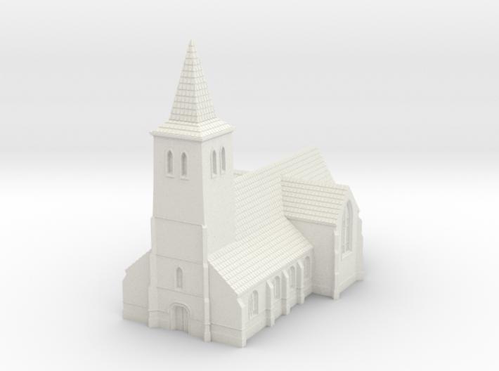 1:350-Church 3d printed