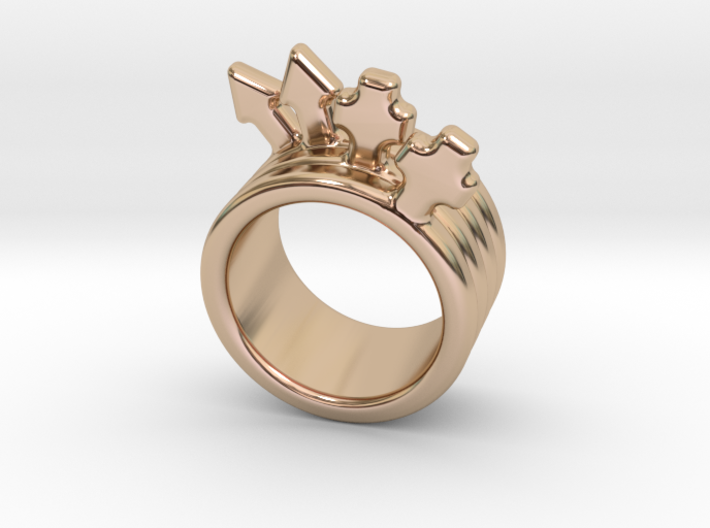Love Forever Ring 14 - Italian Size 14 3d printed