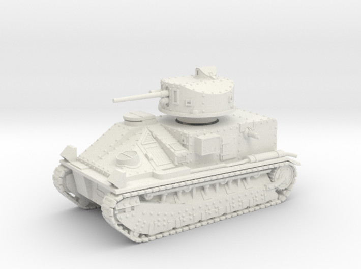 Vickers Medium Mk.II (1:100 scale) 3d printed