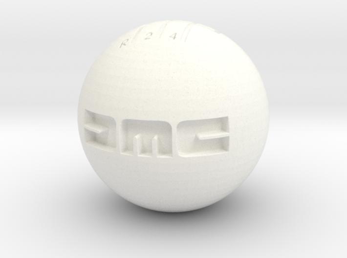 DMC Shift Knob - 60mm - Bolt Hole With DMC Text 3d printed