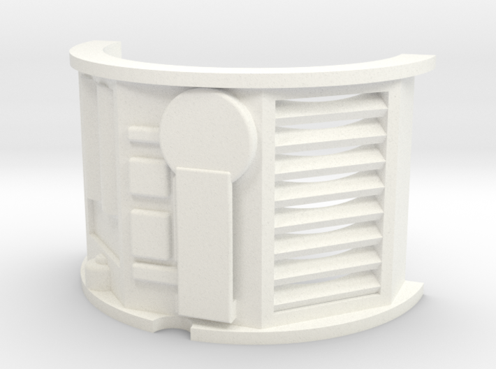 KR Emitter Cutout V5 3d printed