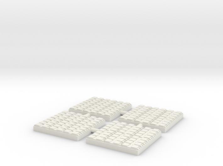 1/500 48 Cell Mk 41 VLS (x4) 3d printed