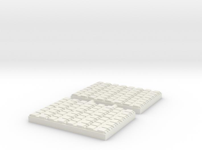 1/500 64 Cell Mk 41 VLS (x2) 3d printed