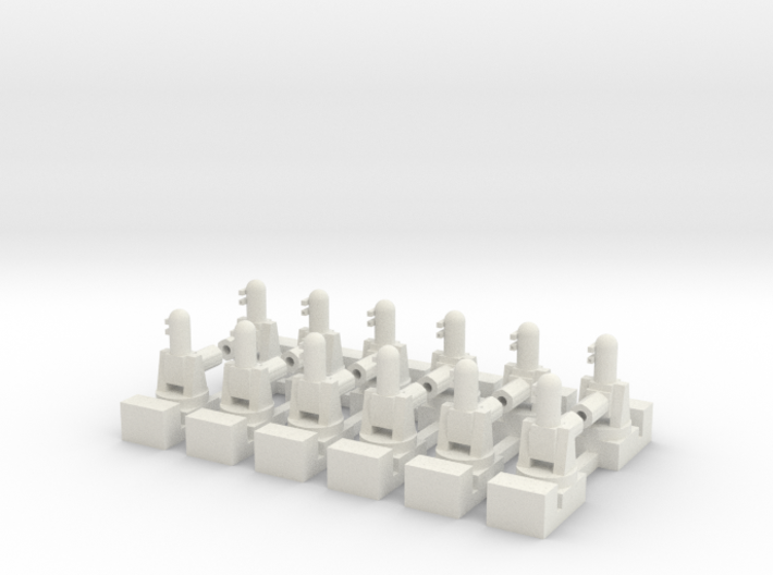 1/500 Phalanx CIWS (x12) 3d printed