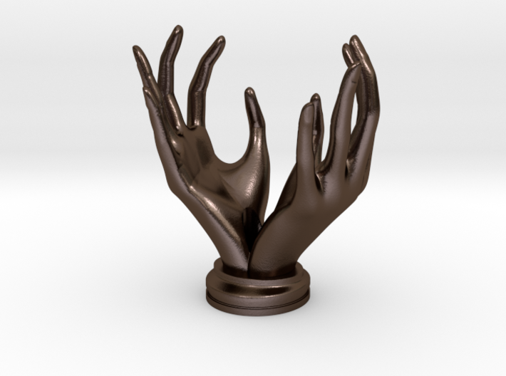 """Hands"" Stand For Pendants/Rings 3d printed"