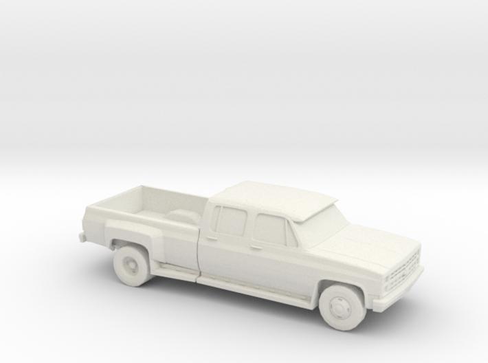 1/87 1989 Chevrolet Silverado Dually 3d printed
