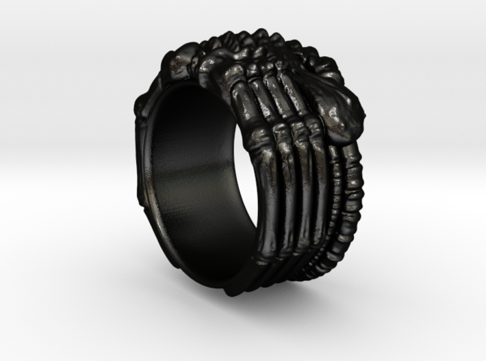 Alien FaceHugger ring SIZE 9.5 US 3d printed