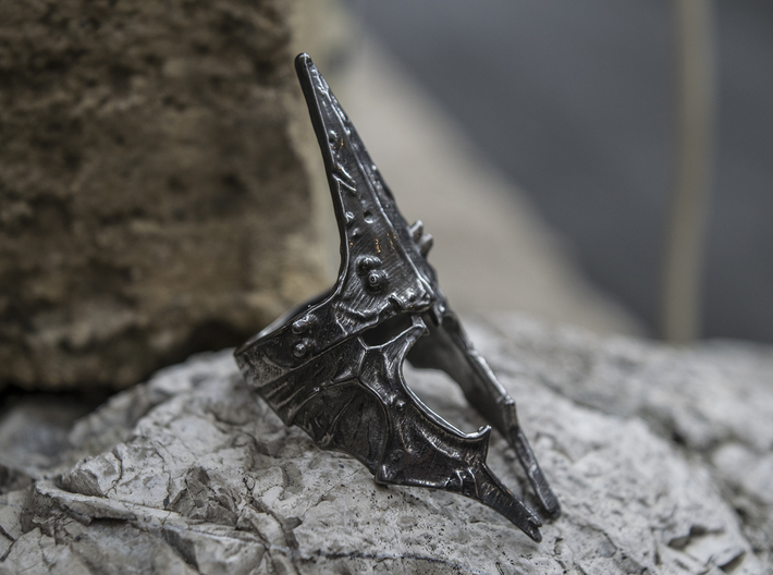 Witch King ring size 9.5 US 3d printed