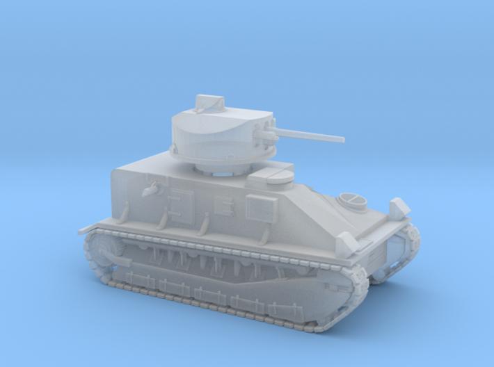 Vickers Medium Mk.II (1:200 scale) 3d printed