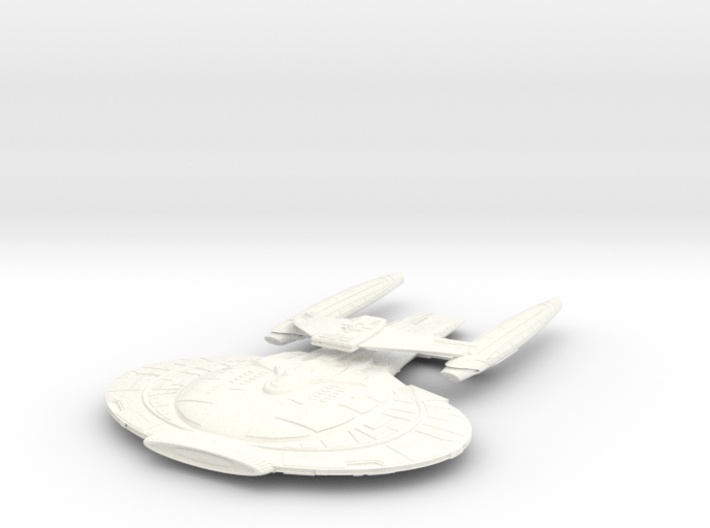 Wildwind Class V BatteCruiser Changed Wings 3d printed