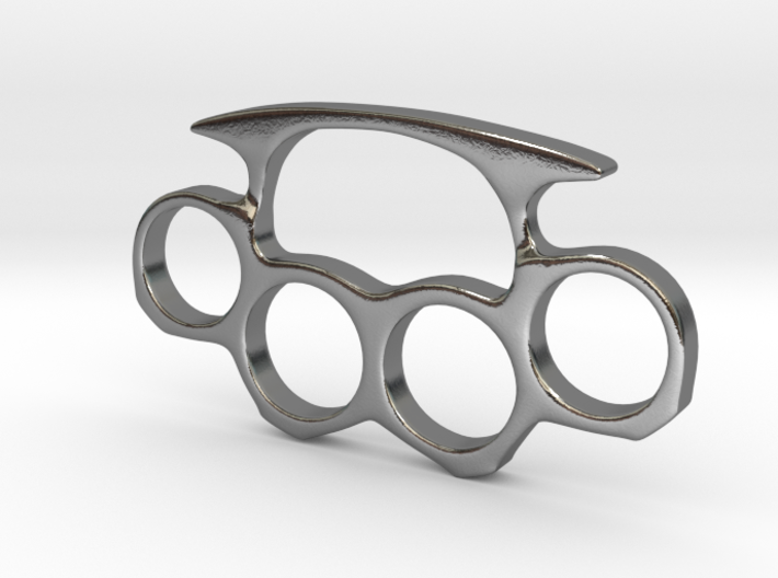 Brass Knuckles Miniature 3d printed
