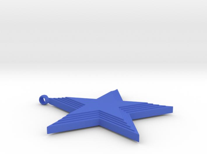 5 Star Pendant 3d printed