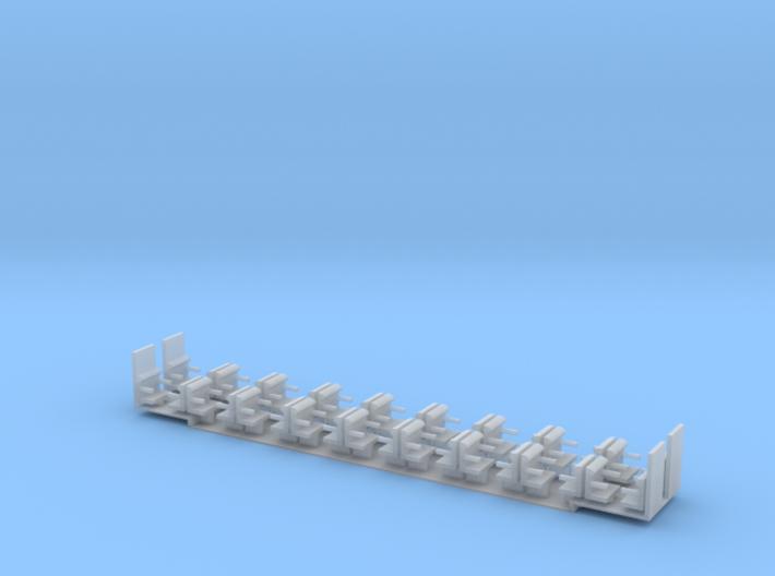 Swissexpress Scale TT Einrichtung 2.Klasse 3d printed