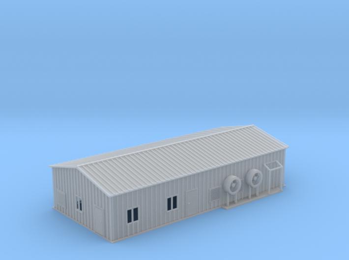 Warehouse Propane Z Scale 3d printed Propane Warehouse Z scale