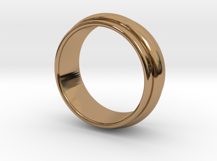 Ø 19.62 Mm Classic Beauty Ring Ø 0.772 Inch 3d printed