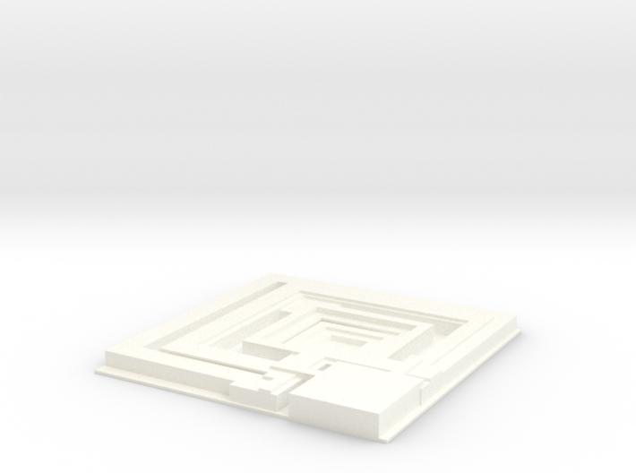 Tile from Bladerunner Deckard Appartement Movie 19 3d printed