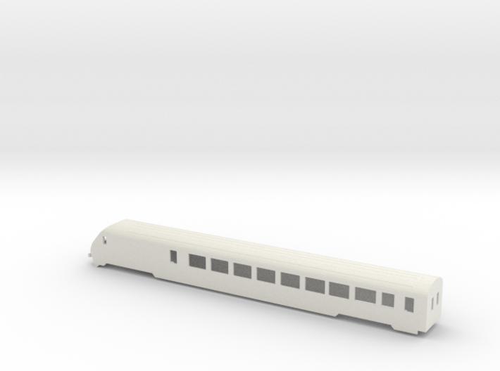 SBB IC Stwg Wagenkasten (V2) Scale TT 3d printed