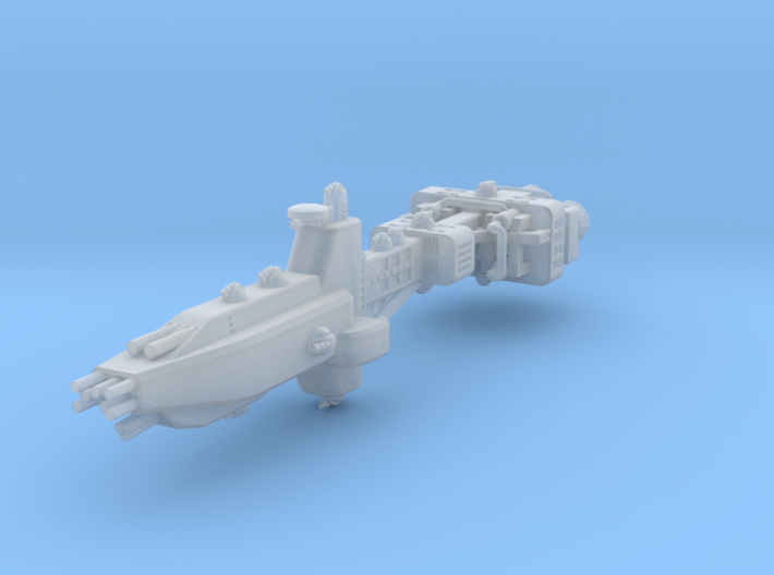 EA Battlecruiser Fleet Scale 3d printed
