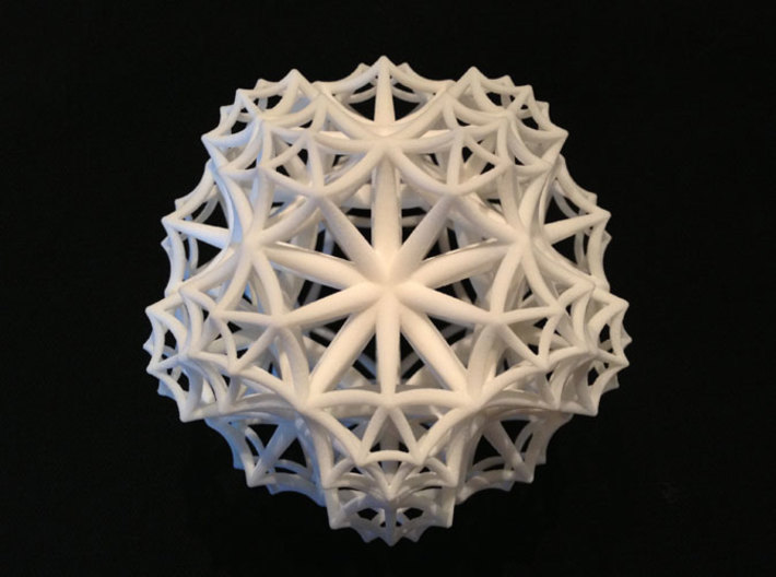 {3,5,3} H³ Honeycomb 3d printed