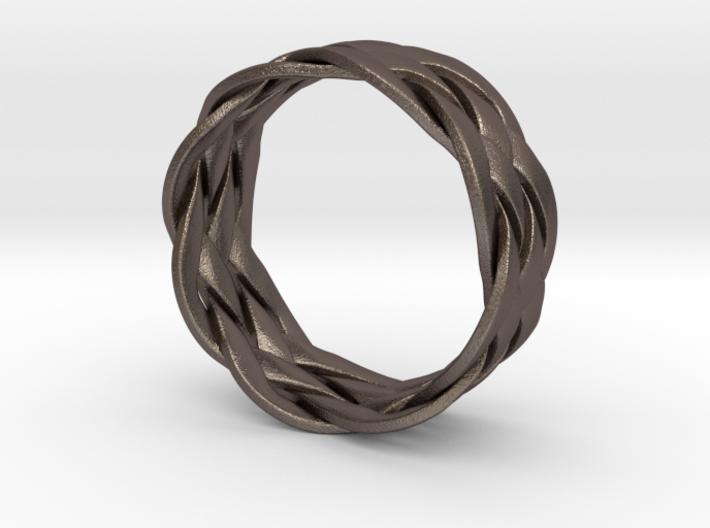 Turkshead Ring - size 12 3d printed
