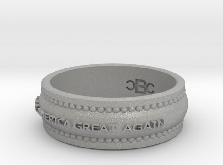 size 8 1/2 Make America Great Again Band 3d printed