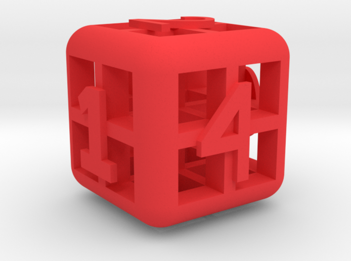 The Big Weird Dice 3d printed