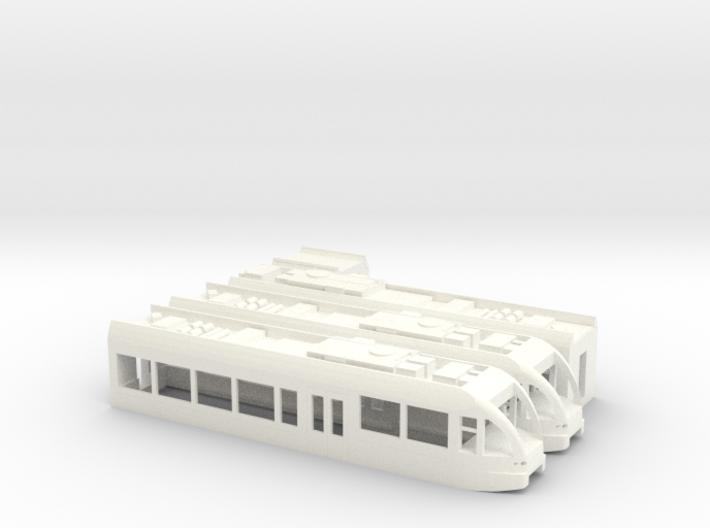 GTW Dreiteilig Scale TT Version2 3d printed