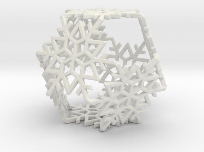 Octahedral Snowflakes 1 3d printed