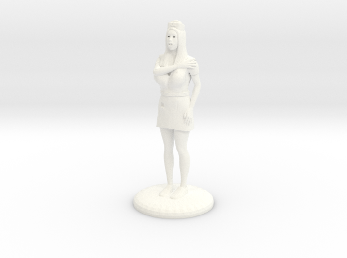 Terrrified Nurse 25 mm 3d printed