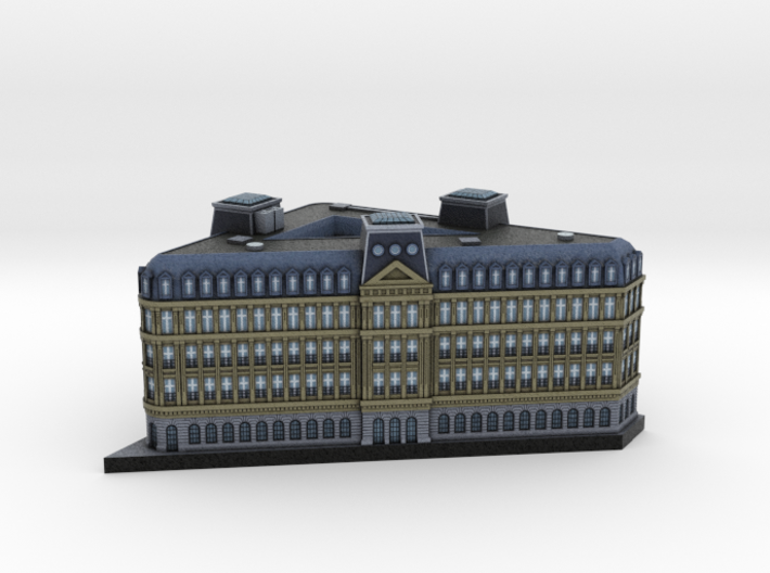 Paris Bank Office 5x4 3d printed