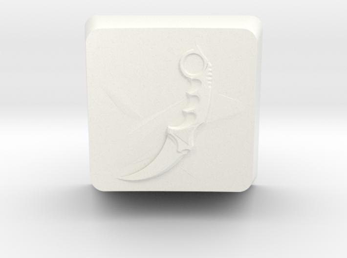 Karambit Keycap 3d printed