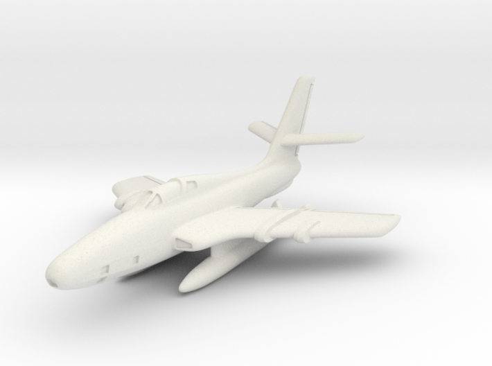 Republic RF-84F Thunderflash (In Flight) 6mm 1/285 3d printed