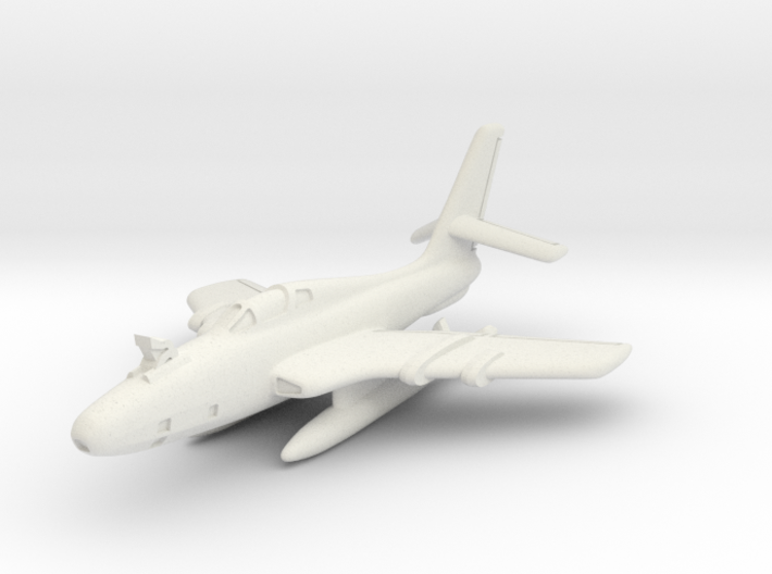 Republic RF-84K Thunderflash (FICON) 6mm 1/285 3d printed