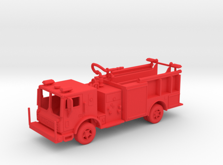 Mack Satellite 3d printed