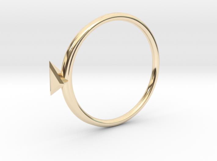 Ring Tetrahedron 3d printed