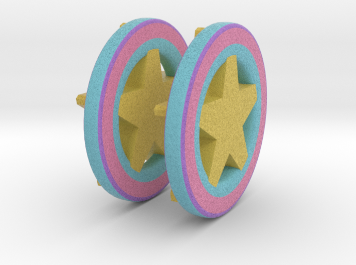 Candy Star 3d printed
